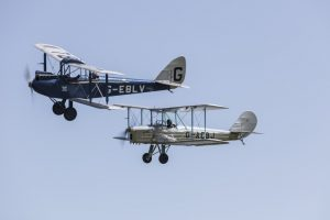 Gypsy Moth and the Blackburne B2