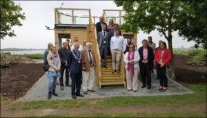 Saltmarsh Coast Viewing Platform Official Opening